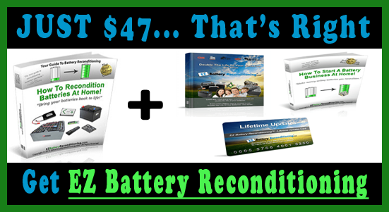 RECOVER ALL DEAD BATTERIES