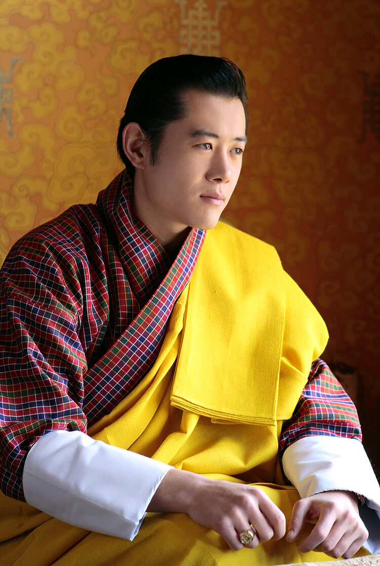 King of Country Bhutan
