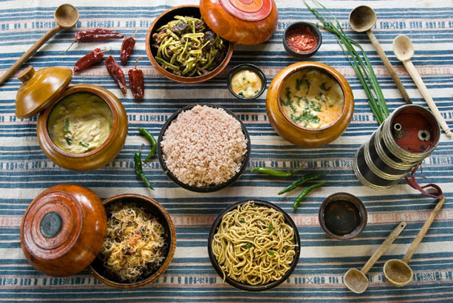 Food of Contry Bhutan